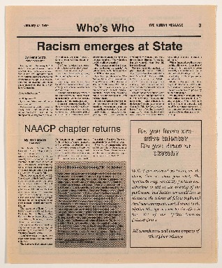 """Racism Emerges at State"""
