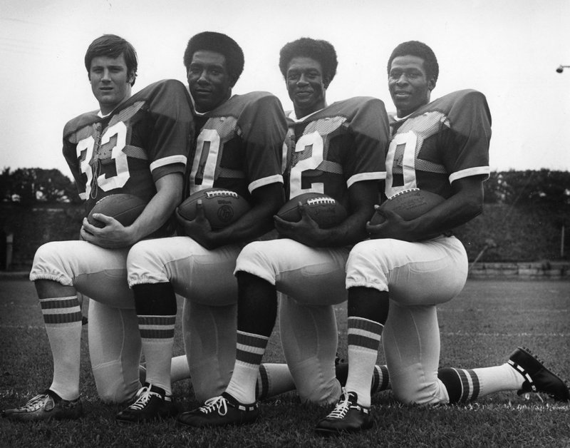 First African Americans Receive Football Scholarship