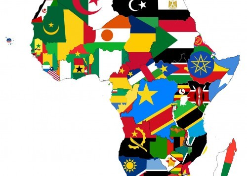 Africa: Nations and Flags