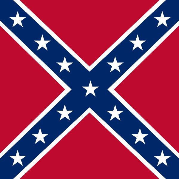 """""""Battle Flag of the US Confederacy"""""""