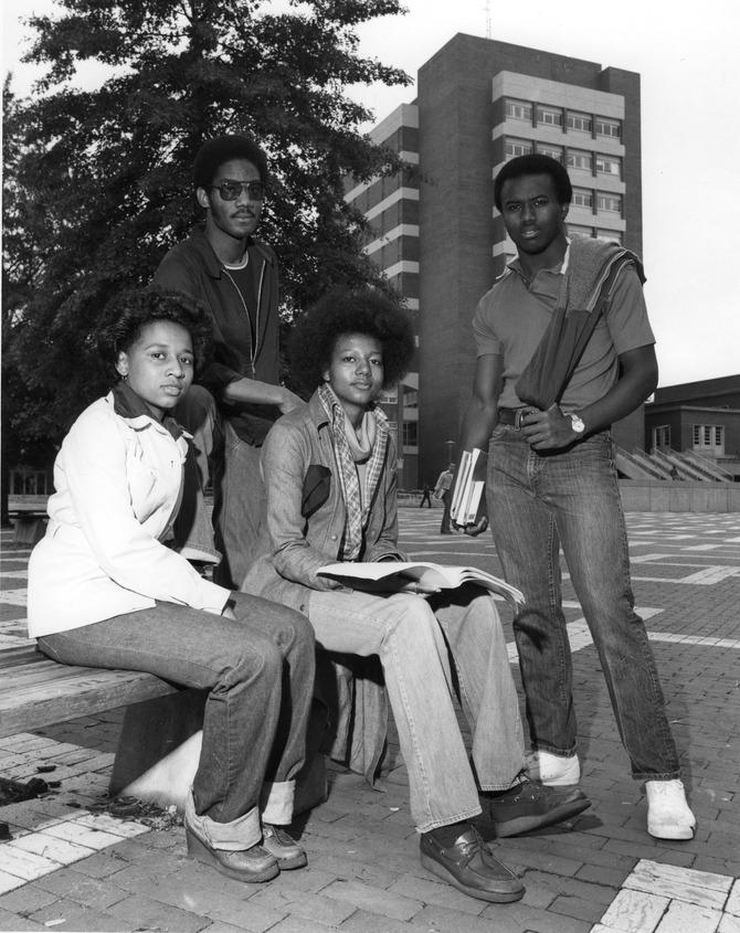 Ted Bush, Karen Wilkerson, Cynthia Hinnaut, Mike Hunter, 1970.