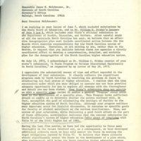 Peter Holmes to Governor James Holshouser, Nov. 13, 1973.jpg