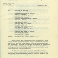 Memorandum by Chancellor Caldwell, January 13, 1975.jpg