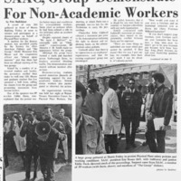 """SAAC, \'Group\' Demonstrate for Non-Academic Workers,\"" 1969.png"