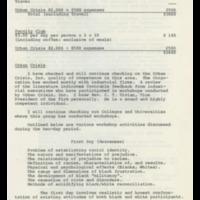 Quail Roost Curriculum, December 9, 1974