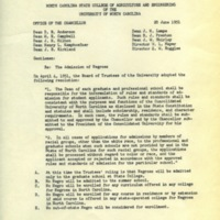 Memorandum by Chancellor John Harrelson, June 20, 1951.jpg
