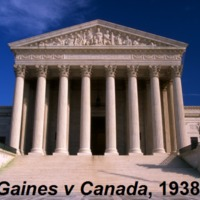 <em>Missouri ex rel. Gaines v. Canada, Registrar of the University of Missouri</em>, 1938