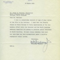 William Rodman, Jr. to Chancellor Carey Bostian, March 29, 1956.jpg
